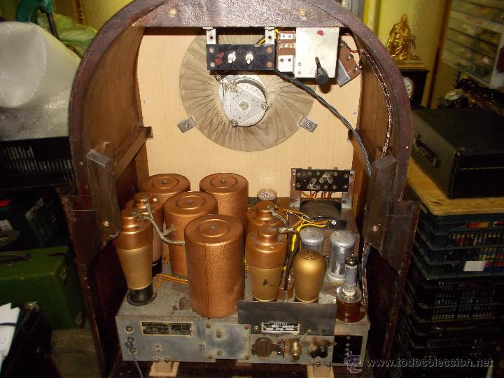 Radios de válvulas: Radio Philips 636A Funcionando - Foto 8 - 50207410