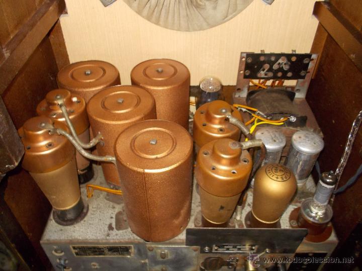 Radios de válvulas: Radio Philips 636A Funcionando - Foto 12 - 50207410