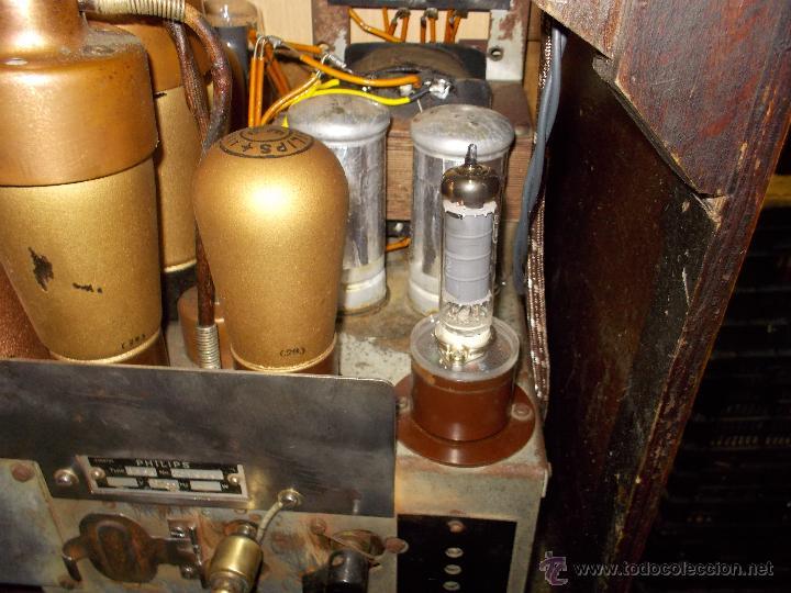 Radios de válvulas: Radio Philips 636A Funcionando - Foto 13 - 50207410