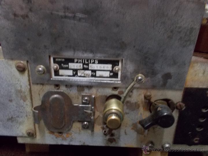 Radios de válvulas: Radio Philips 636A Funcionando - Foto 15 - 50207410