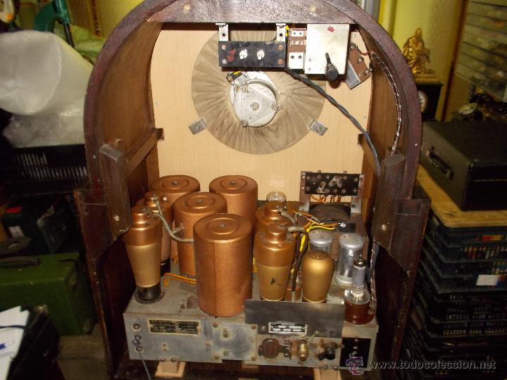 Radios de válvulas: Radio Philips 636A Funcionando - Foto 17 - 50207410