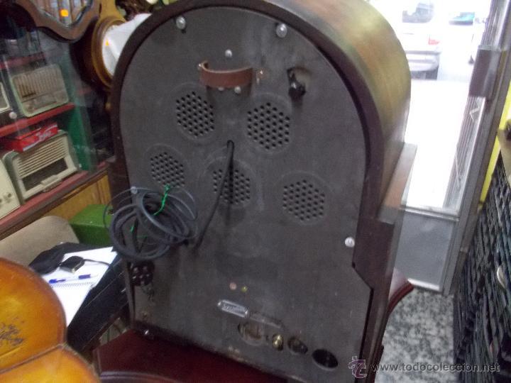 Radios de válvulas: Radio Philips 636A Funcionando - Foto 22 - 50207410
