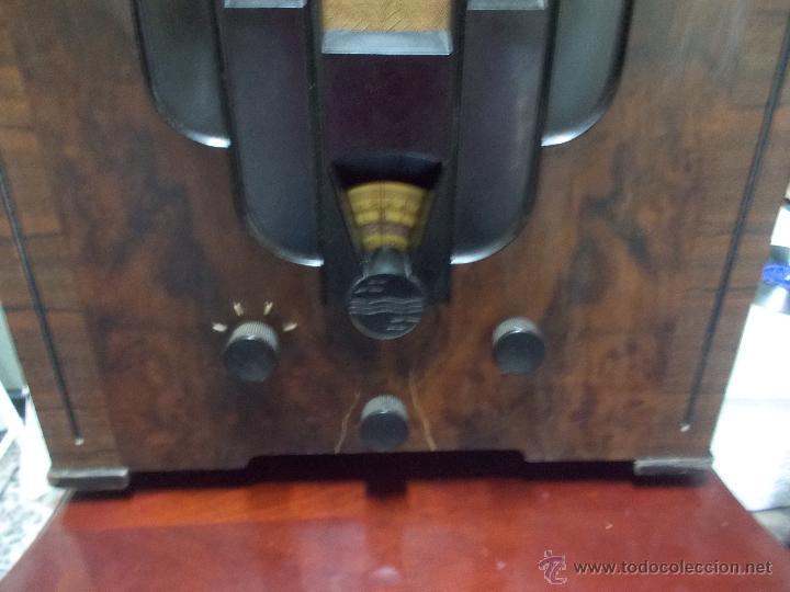 Radios de válvulas: Radio Philips 636A Funcionando - Foto 25 - 50207410
