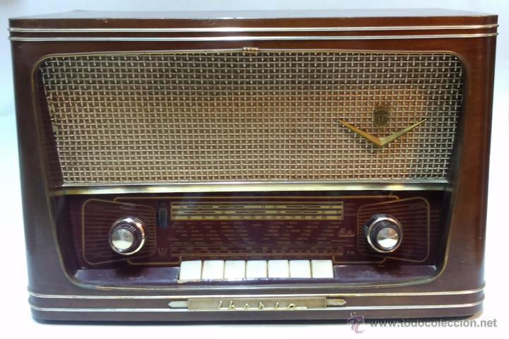 RADIO IBERIA. MOD. T-2135. A VALVULAS. EN FUNCIONAMIENTO. AÑO 1960. (Radios, Gramófonos, Grabadoras y Otros - Radios de Válvulas)
