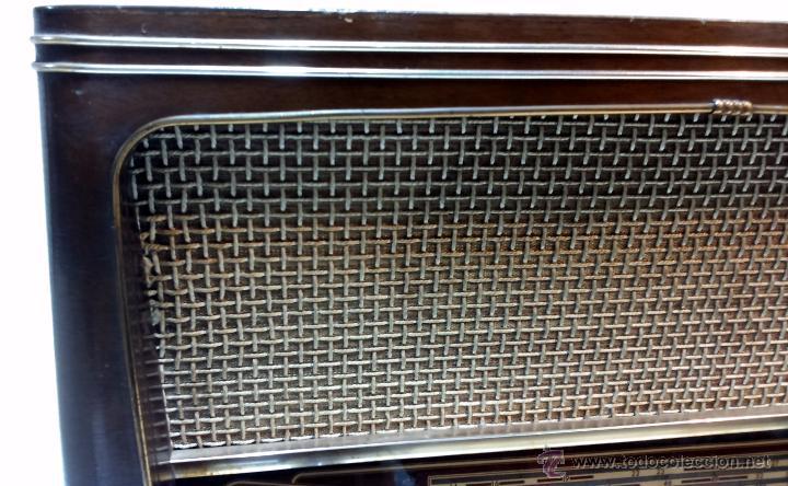 Radios de válvulas: RADIO IBERIA. MOD. T-2135. A VALVULAS. EN FUNCIONAMIENTO. AÑO 1960. - Foto 8 - 50282144