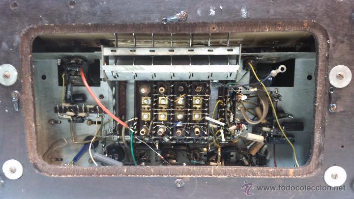 Radios de válvulas: RADIO IBERIA. MOD. T-2135. A VALVULAS. EN FUNCIONAMIENTO. AÑO 1960. - Foto 20 - 50282144