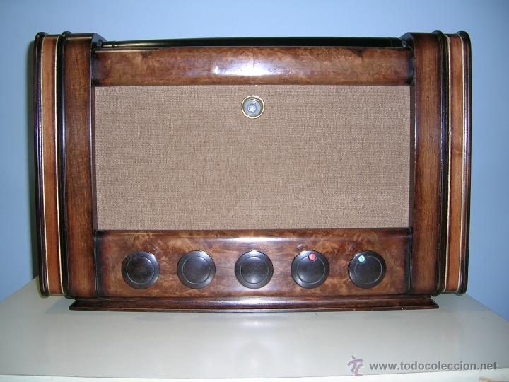 Radios de válvulas: RADIO INVICTA - Foto 2 - 50357378