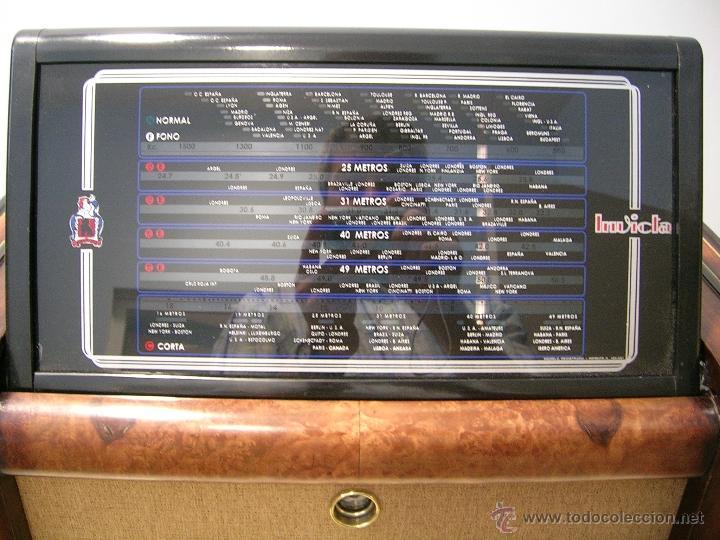 Radios de válvulas: RADIO INVICTA - Foto 3 - 50357378