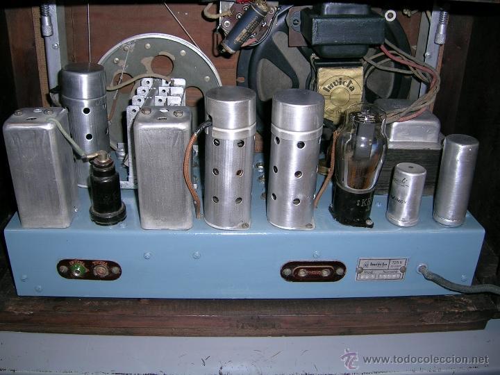 Radios de válvulas: RADIO INVICTA - Foto 4 - 50357378