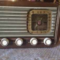 Radios de válvulas: ANTIGUA RADIO MARCA RADIO MONTSENY DE LOS AÑOS 30 - 40. Lote 50373372