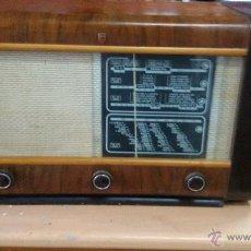 Radios de válvulas: RADIO PHILIPS 125V. Lote 51659339