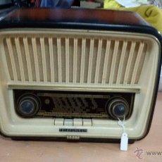 Radios de válvulas: RADIO TELEFUNKEN FUNCIONANDO. Lote 51659481