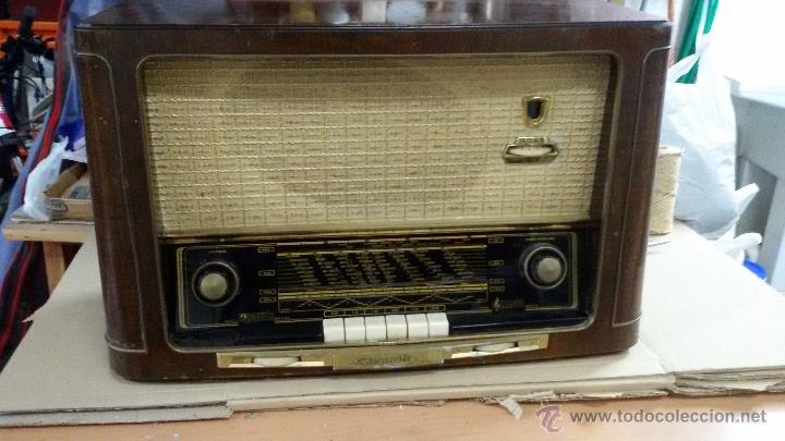 RADIO GRUNDIG 220V AM/FM (Radios, Gramófonos, Grabadoras y Otros - Radios de Válvulas)