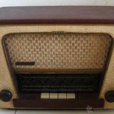 Radios à lampes: ANTIGUA RADIO RADIOBELL R.M.200 (SIN COMPROBAR, 34X17X24CM APROX, 1957/58). Lote 51790663
