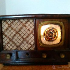 Radios de válvulas: RADIO IBERIA A VALVULAS FUNCIONA MOD 3550. Lote 51799597