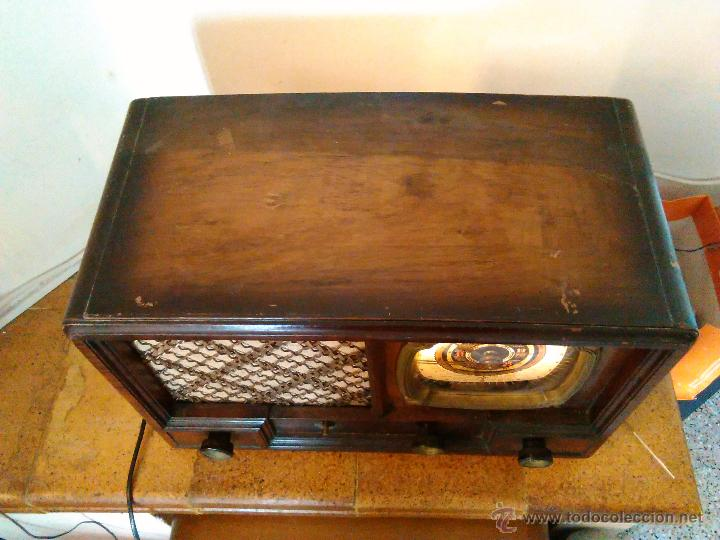 Radios de válvulas: RADIO IBERIA A VALVULAS FUNCIONA mod 3550 - Foto 2 - 51799597