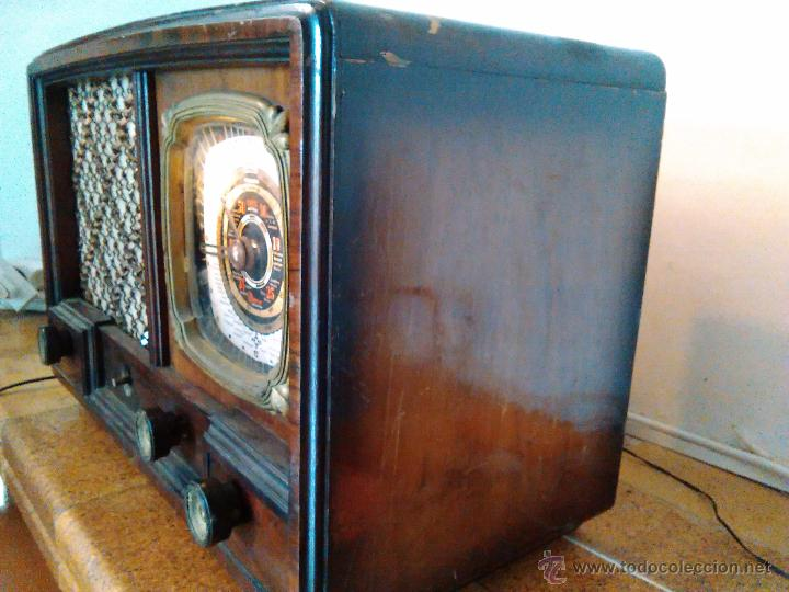 Radios de válvulas: RADIO IBERIA A VALVULAS FUNCIONA mod 3550 - Foto 3 - 51799597
