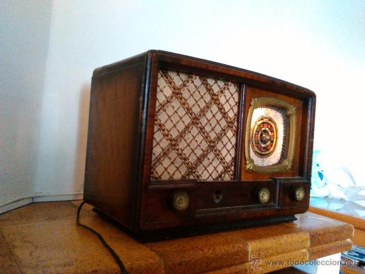 Radios de válvulas: RADIO IBERIA A VALVULAS FUNCIONA mod 3550 - Foto 4 - 51799597