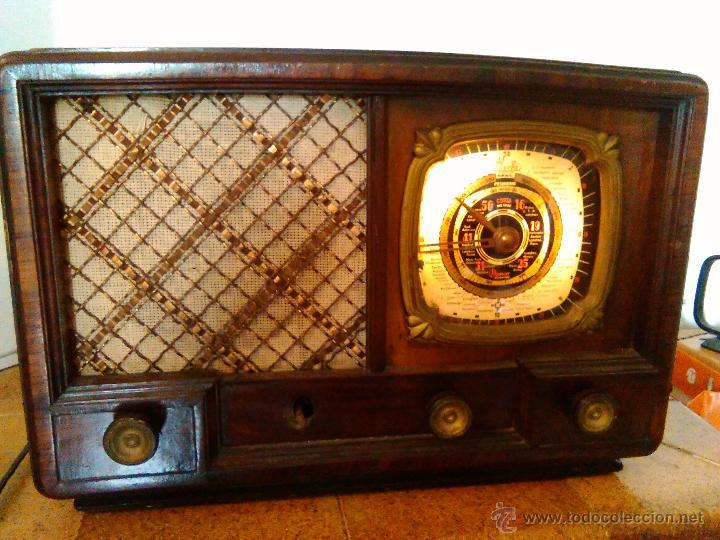 Radios de válvulas: RADIO IBERIA A VALVULAS FUNCIONA mod 3550 - Foto 5 - 51799597