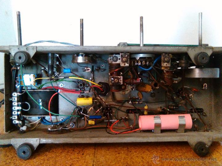 Radios de válvulas: RADIO IBERIA A VALVULAS FUNCIONA mod 3550 - Foto 6 - 51799597
