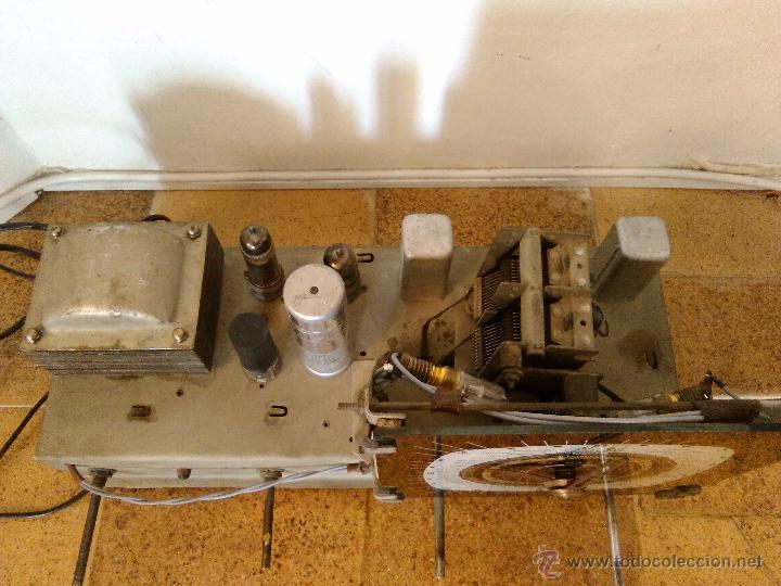 Radios de válvulas: RADIO IBERIA A VALVULAS FUNCIONA mod 3550 - Foto 7 - 51799597
