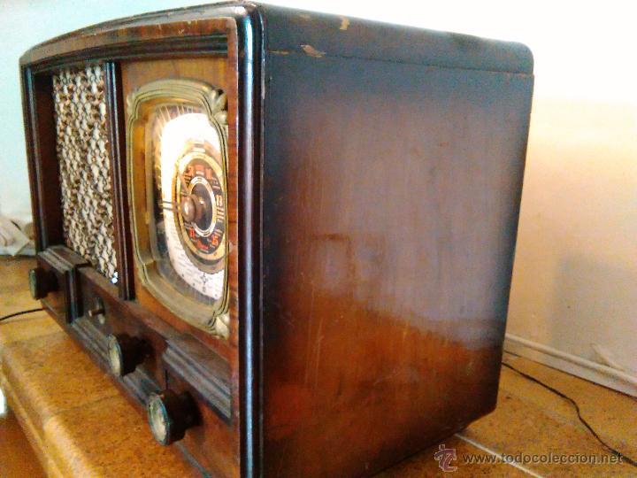 Radios de válvulas: RADIO IBERIA A VALVULAS FUNCIONA mod 3550 - Foto 8 - 51799597