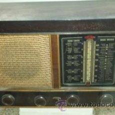 Radios de válvulas: RADIO BERTRAN EXCELSIOR MODELO 414. Lote 52004046