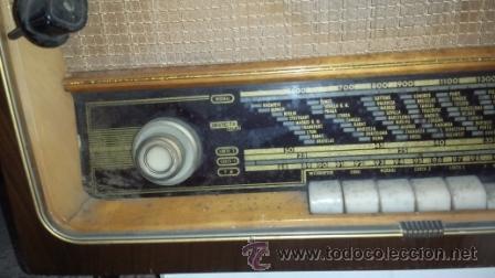 Radios de válvulas: RADIO INVICTA MODELO 7474 - Foto 4 - 52005016