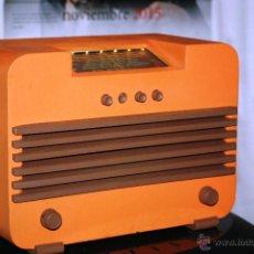 Radios de válvulas: RADIO SUECA CAJA DE MADERA MARCA NORNAN KA 1100. FUNCIONANDO PERFECTAMENTE EN OM VER VIDEO. Lote 52624385