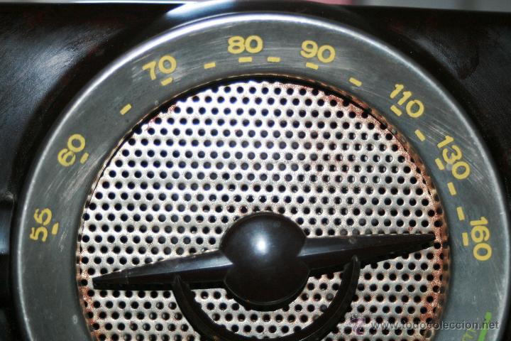 Radios de válvulas: RADIO DE BAQUELITA DE VALVULAS POSIBLEMENTE MARCA GÜELRAD AMERICANA (CHILE) FUNCIONANDO VER VIDEO - Foto 10 - 52647837