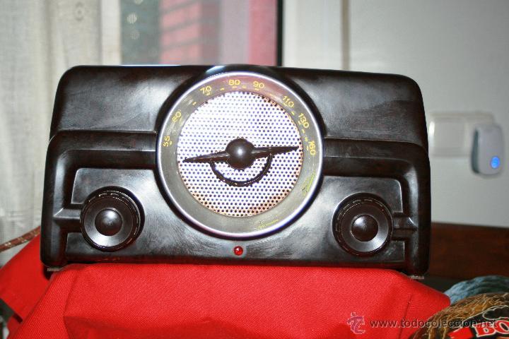 Radios de válvulas: RADIO DE BAQUELITA DE VALVULAS POSIBLEMENTE MARCA GÜELRAD AMERICANA (CHILE) FUNCIONANDO VER VIDEO - Foto 15 - 52647837