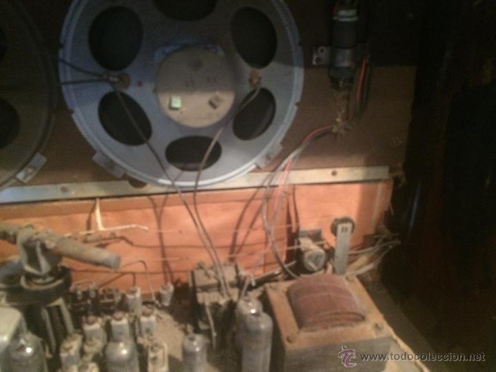 Radios de válvulas: Antigua radio de valvulas marca Askar de los años 50 con antena incorporada en interior - Foto 18 - 53228891