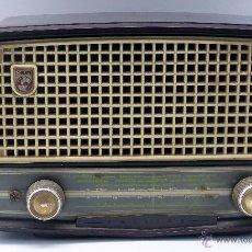 Radios de válvulas: RADIO VÁLVULAS PHILIPS BE 262 U FUNCIONA 125 V. Lote 53415500