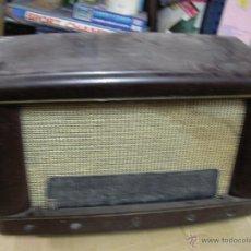 Radios de válvulas: ANTIGUA CAJA DE BAKELITA PARA RADIO ANTIGUA DE VALVULAS . Lote 53698353