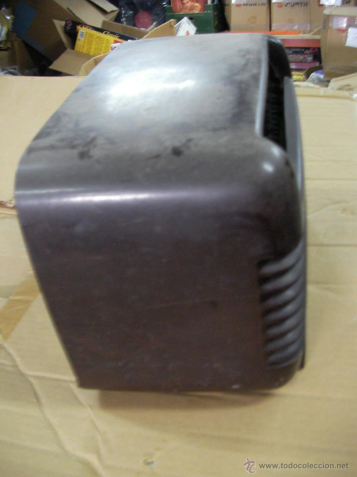 Radios de válvulas: ANTIGUA CAJA DE BAKELITA PARA RADIO ANTIGUA DE VALVULAS PHILCO - Foto 2 - 53698389