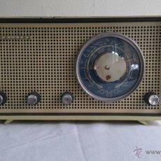 Radios de válvulas: RADIO PHILIPS B2X 80U FUNCIONANDO 220 V.AÑO 1958.HOLANDA. Lote 53747664