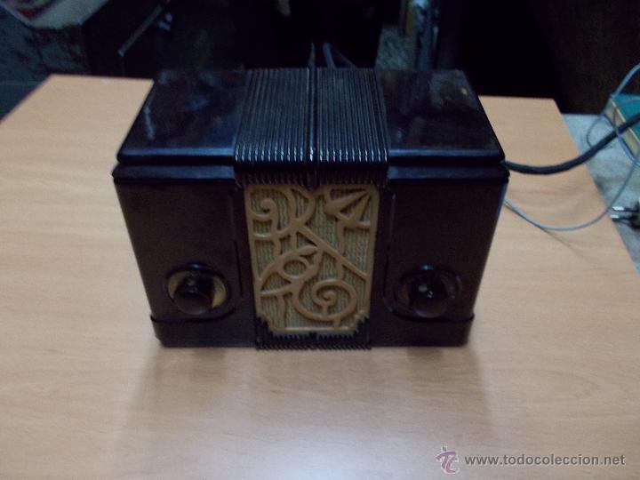 RADIO KEDETTE JEWELL FUNCIONANDO (Radios, Gramófonos, Grabadoras y Otros - Radios de Válvulas)
