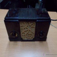 Radios de válvulas: RADIO KEDETTE JEWELL FUNCIONANDO. Lote 180015332