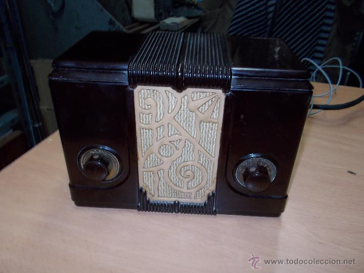 Radios de válvulas: Radio Kedette Jewell FUNCIONANDO - Foto 3 - 180015332
