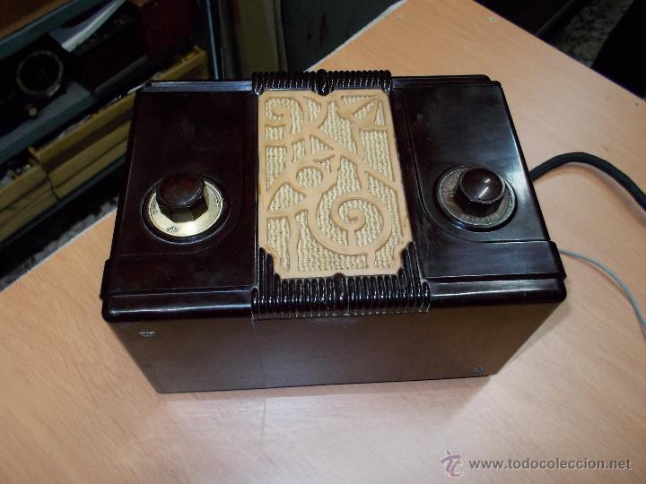 Radios de válvulas: Radio Kedette Jewell FUNCIONANDO - Foto 4 - 180015332