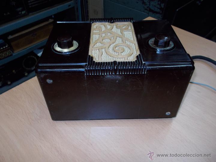 Radios de válvulas: Radio Kedette Jewell FUNCIONANDO - Foto 5 - 180015332