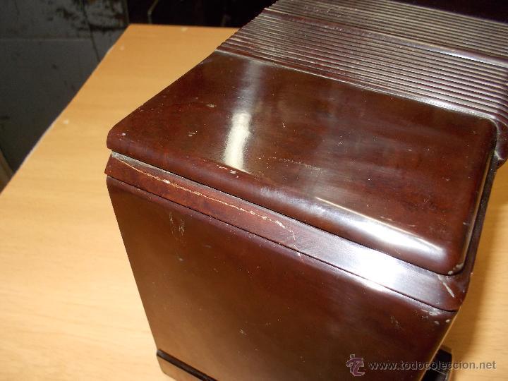 Radios de válvulas: Radio Kedette Jewell FUNCIONANDO - Foto 6 - 180015332