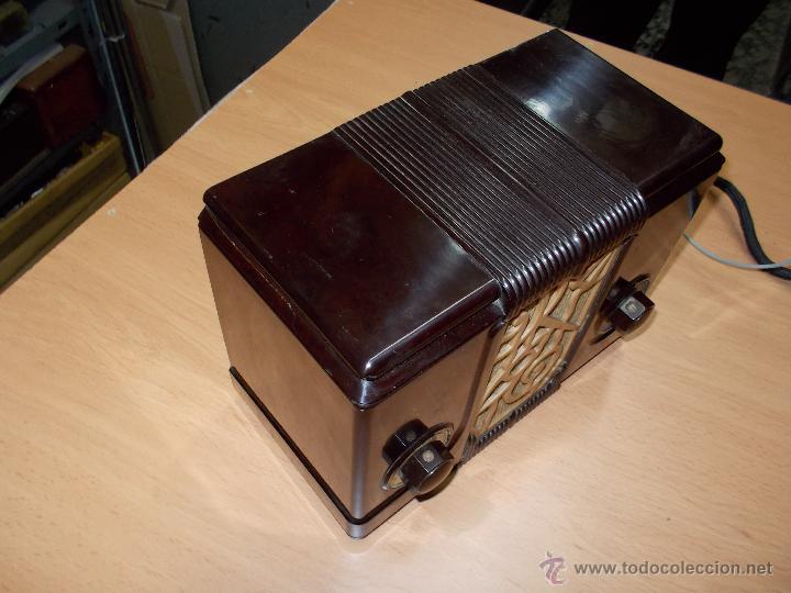 Radios de válvulas: Radio Kedette Jewell FUNCIONANDO - Foto 7 - 180015332