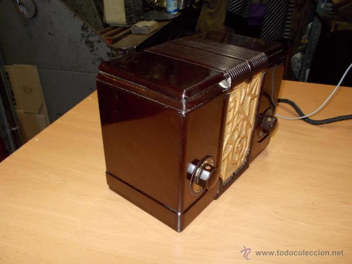 Radios de válvulas: Radio Kedette Jewell FUNCIONANDO - Foto 8 - 180015332