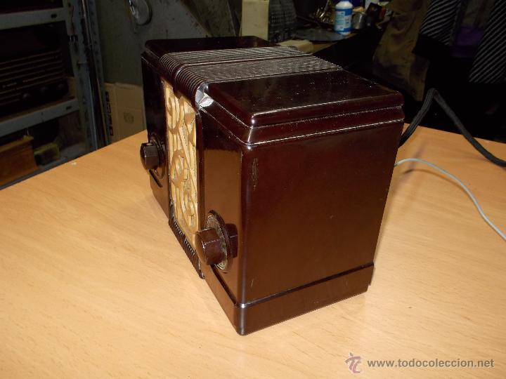 Radios de válvulas: Radio Kedette Jewell FUNCIONANDO - Foto 9 - 180015332