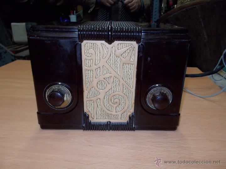 Radios de válvulas: Radio Kedette Jewell FUNCIONANDO - Foto 10 - 180015332