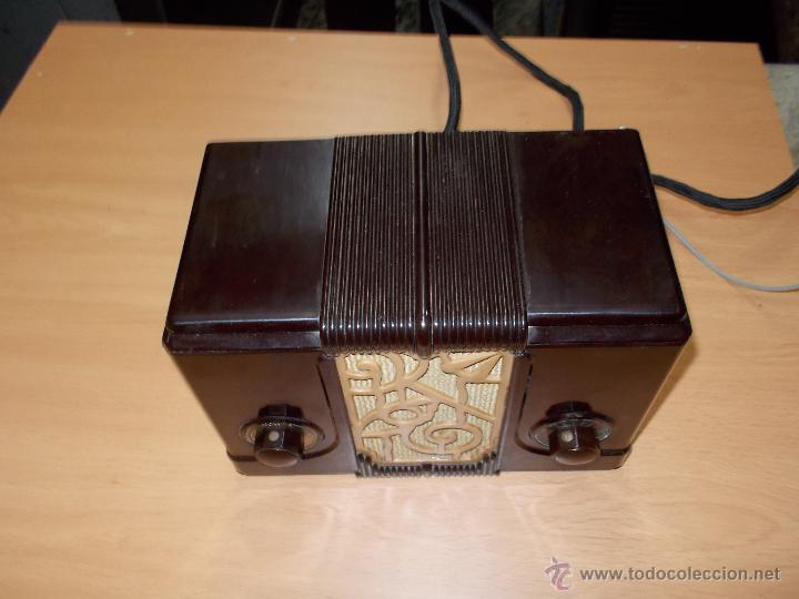 Radios de válvulas: Radio Kedette Jewell FUNCIONANDO - Foto 11 - 180015332