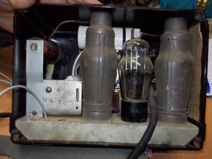 Radios de válvulas: Radio Kedette Jewell FUNCIONANDO - Foto 12 - 180015332