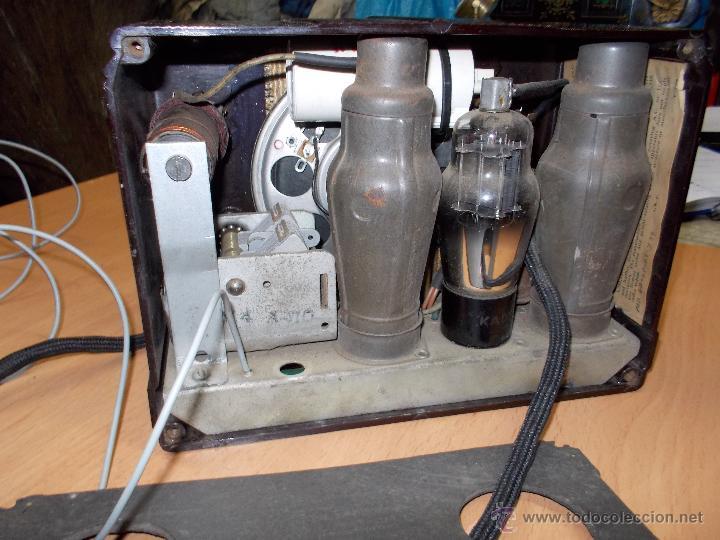 Radios de válvulas: Radio Kedette Jewell FUNCIONANDO - Foto 13 - 180015332