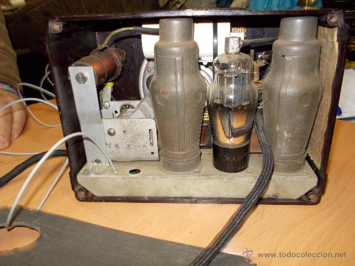 Radios de válvulas: Radio Kedette Jewell FUNCIONANDO - Foto 14 - 180015332